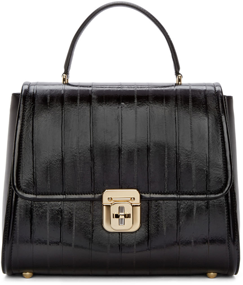 Dolce-and-Gabbana-Eel-Top-Handle-Bag