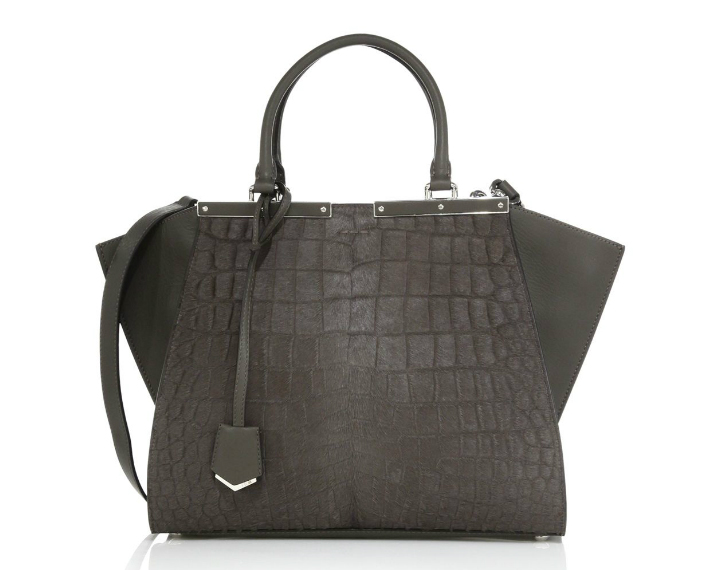 Fendi-3Jours-Embossed-Calf-Hair-Bag