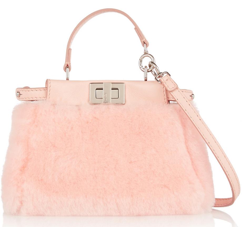 Fendi-Micro-Shearling-Peekaboo-Bag