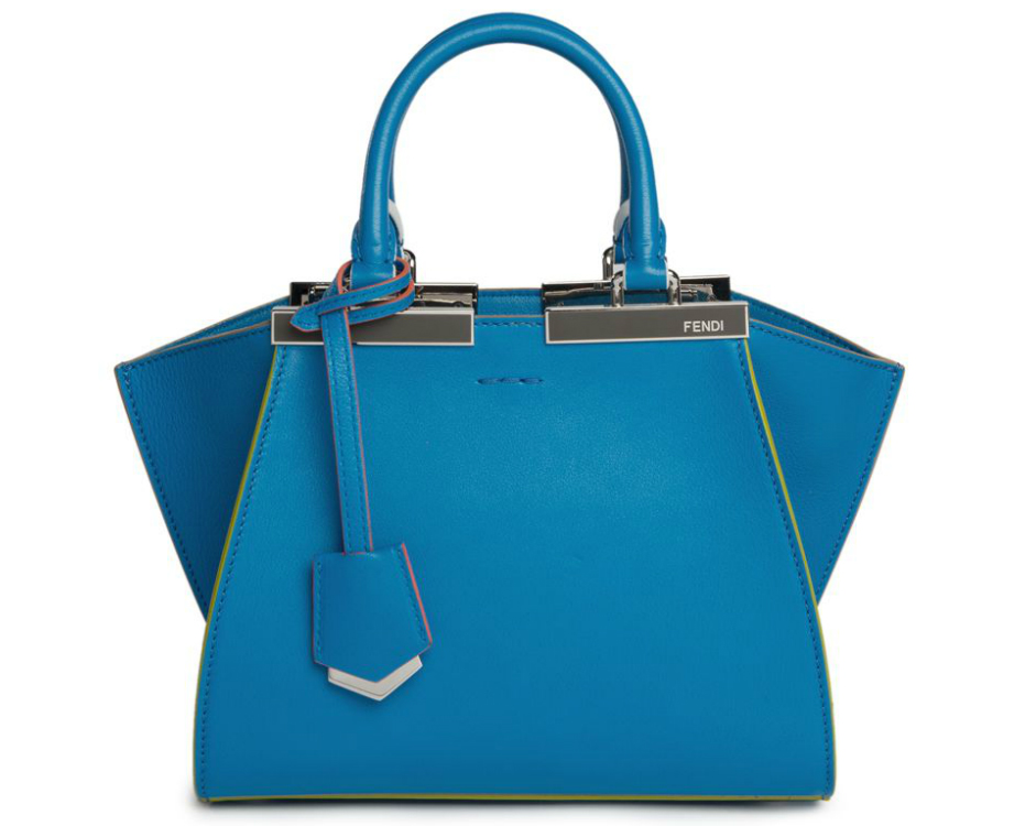 Fendi-Mini-3Jours-Bag-Bright-Blue