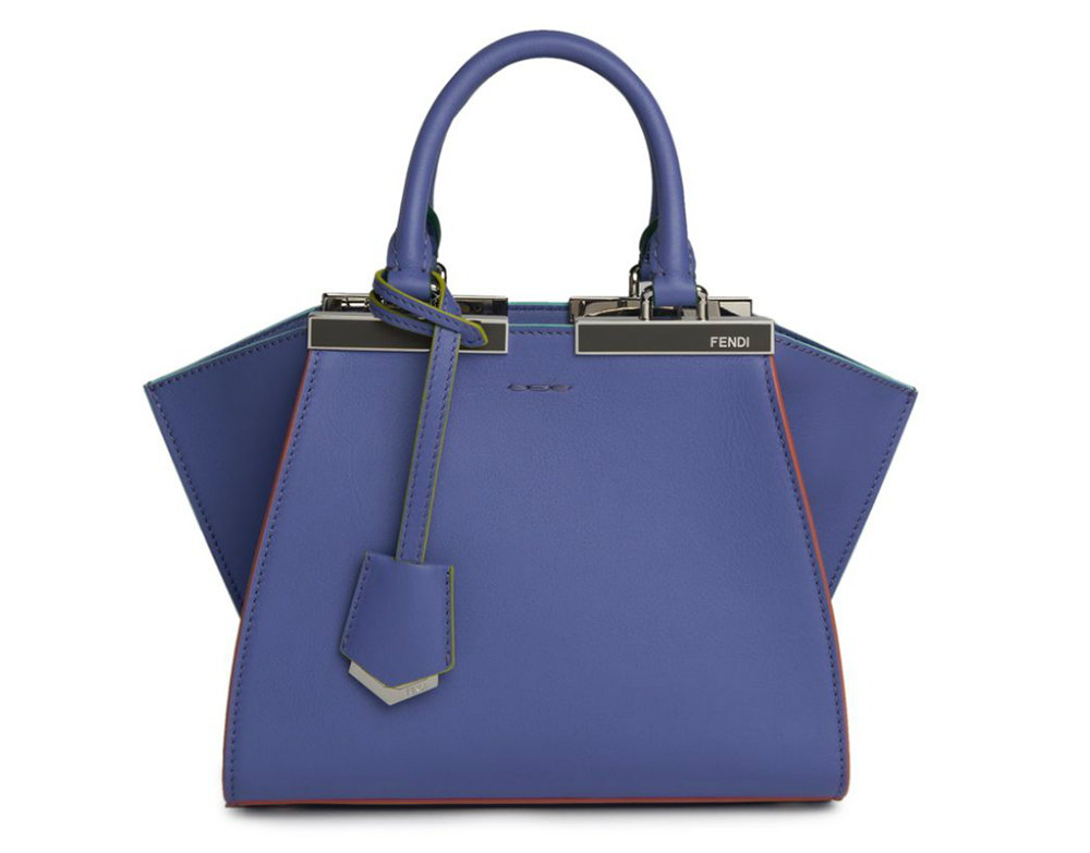 Fendi-Mini-3Jours-Bag-Dark-Blue