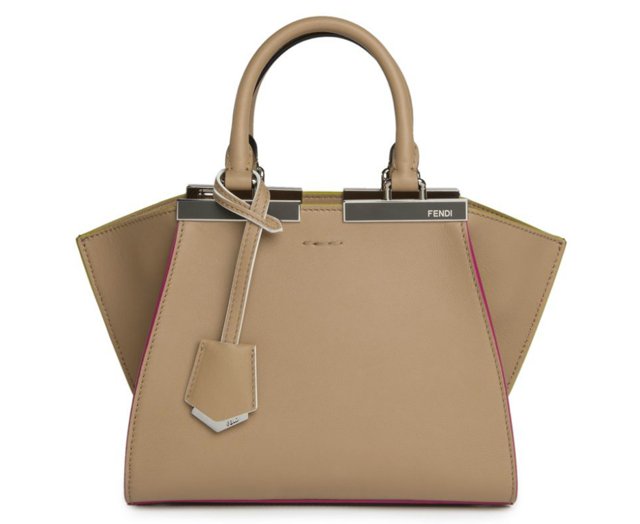 Fendi-Mini-3Jours-Bag-Taupe