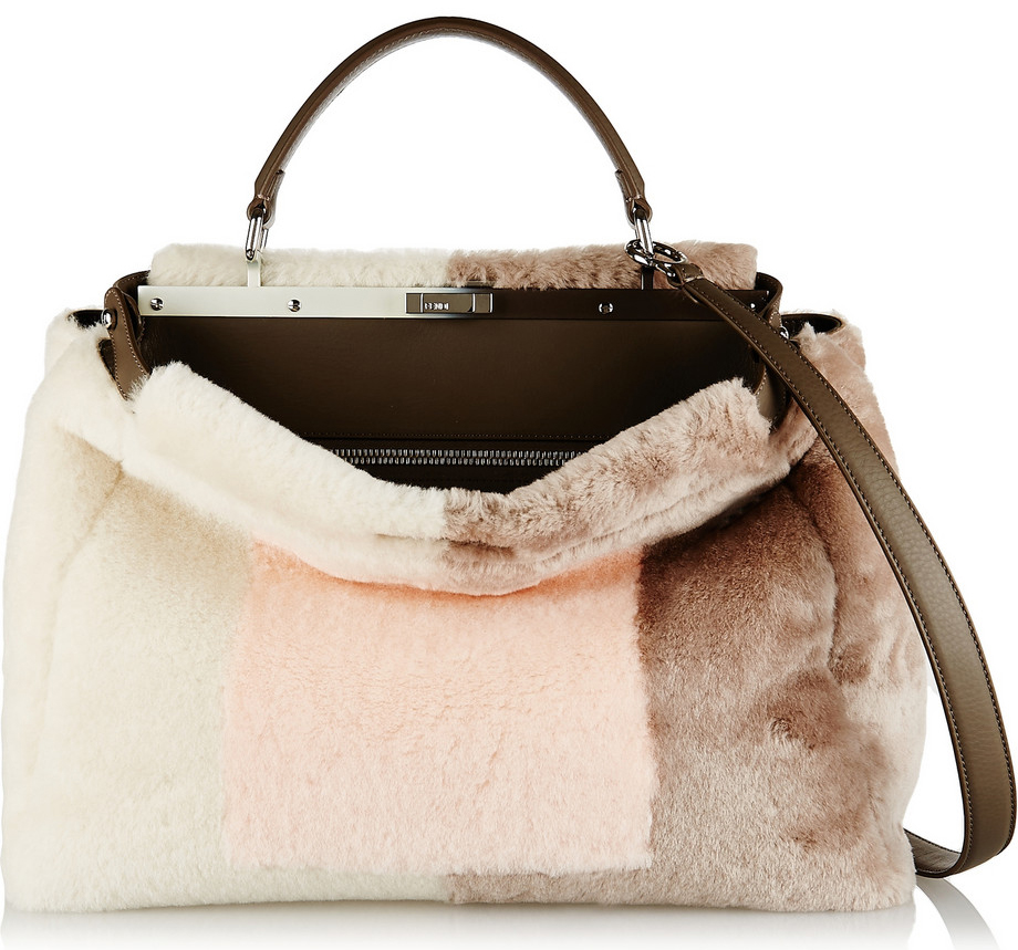 Fendi-Peekaboo-Shearling-Large-Bag