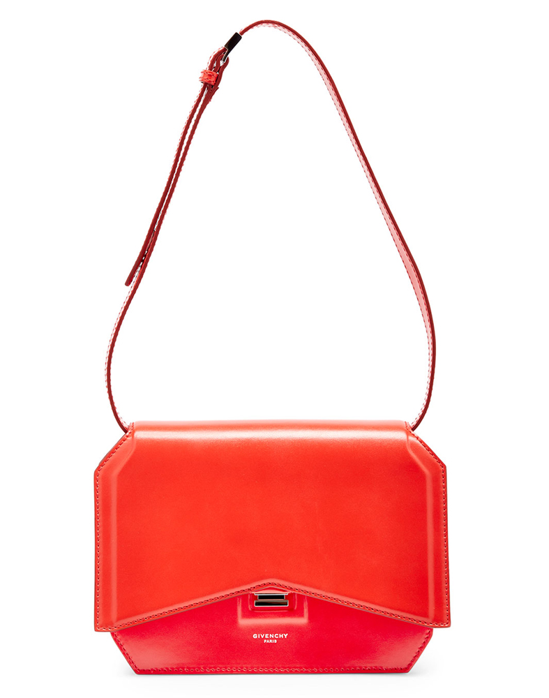 Givenchy-Bow-Cut-New-Line-Flap-Bag-Red