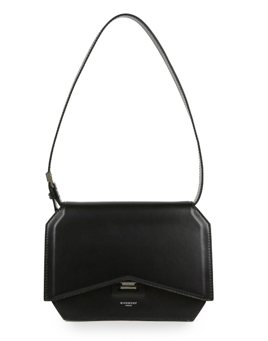 Givenchy-New-Line-Bow-Cut-Flap-Bag-Black