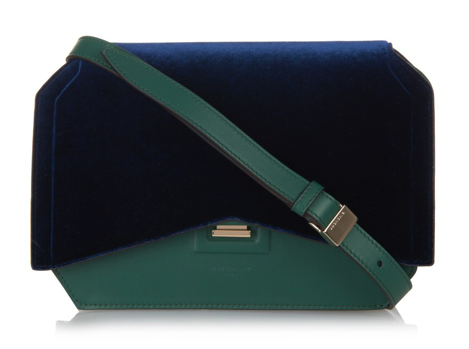 Givenchy-New-Line-Bow-Cut-Velvet-Shoulder-Bag