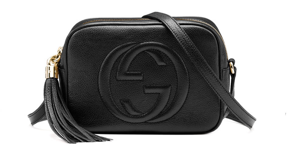 Gucci Soho Disco Bag In Black