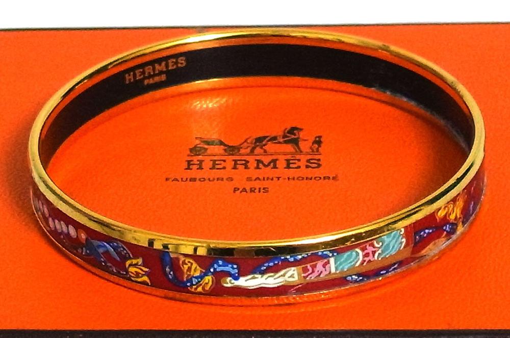 Hermes-Enamel-Bracelet
