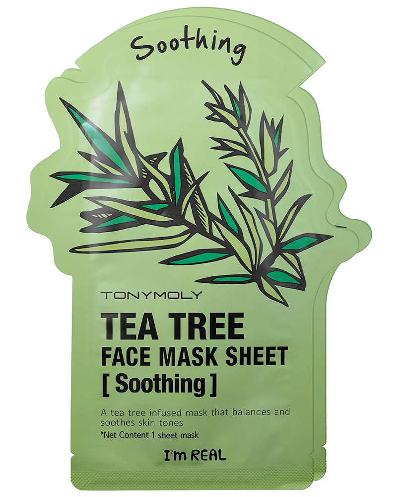 I'm-Real-Tea-Tree-Soothing-Sheet-Mask