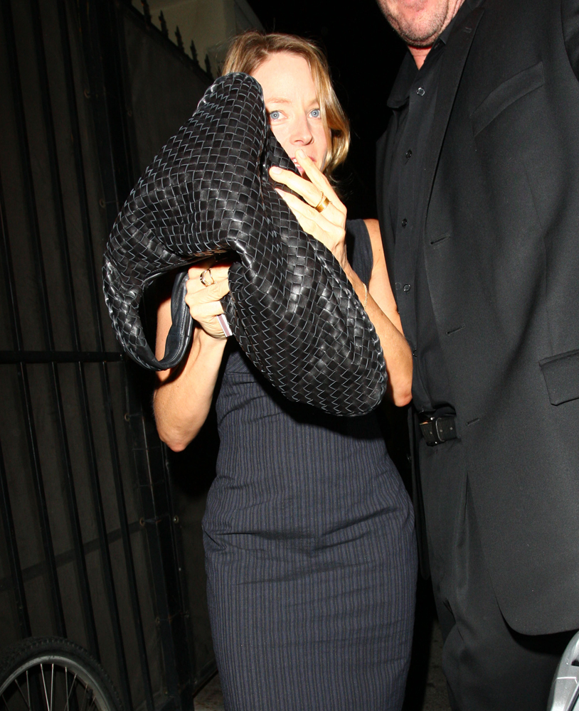 Jodie-Foster-Bottega-Veneta-Veneta-Shoulder-Bag