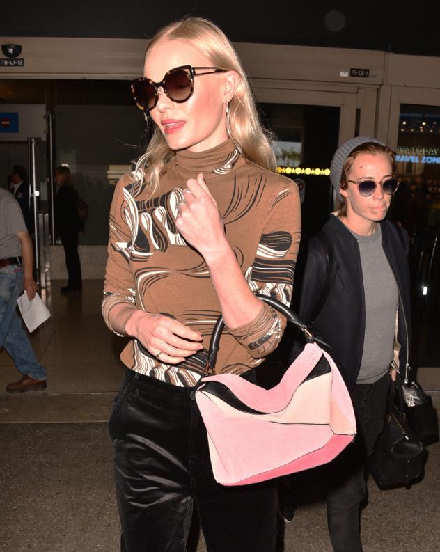 Kate-Bosworth-Loewe-Suede-Puzzle-Bag