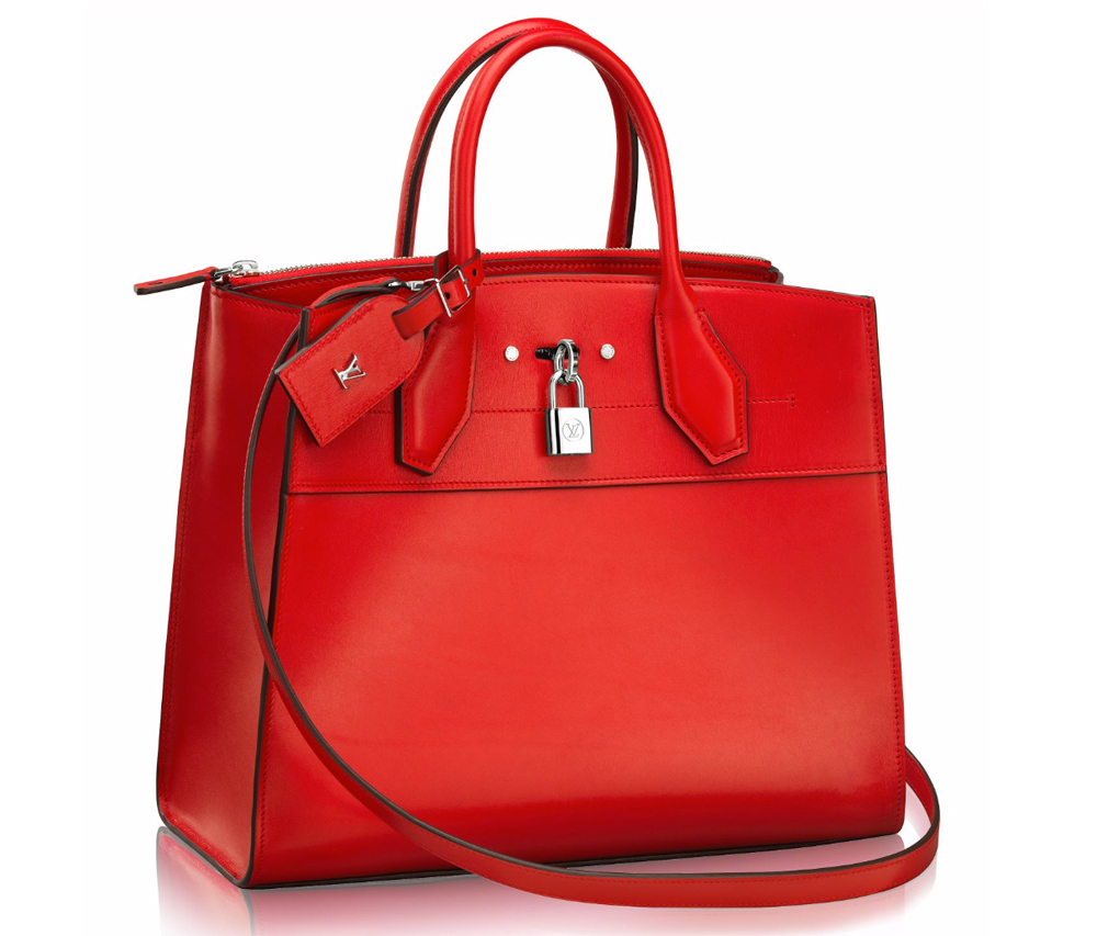 Louis-Vuitton-City-Steamer-Tote-MM-Red