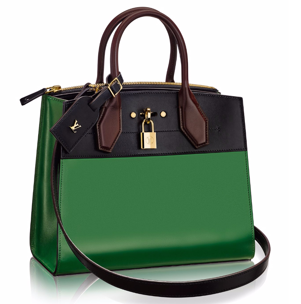 Louis-Vuitton-City-Steamer-Tote-PM-Green