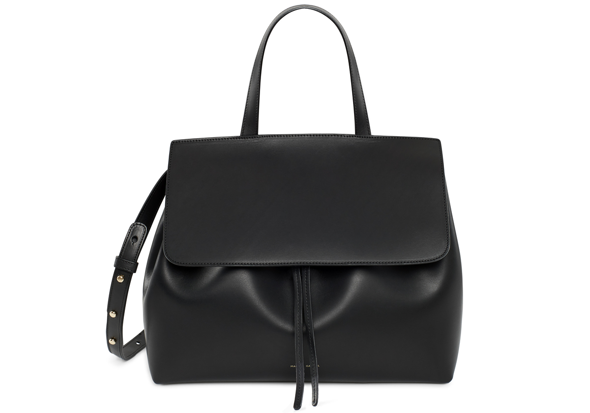 Mansur Gavriel Lady Bag in Black Flamma