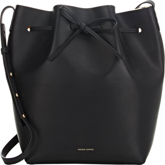 Mansur Gavriel Large Bucket Bag, $595 via Barneys