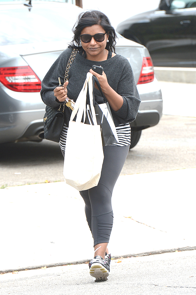 Mindy-Kaling-Chanel-Classic-Flap-Bag-1