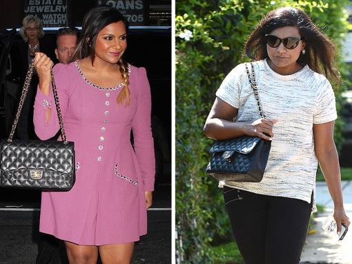 Mindy-Kaling-Chanel-Classic-Flap-Bag