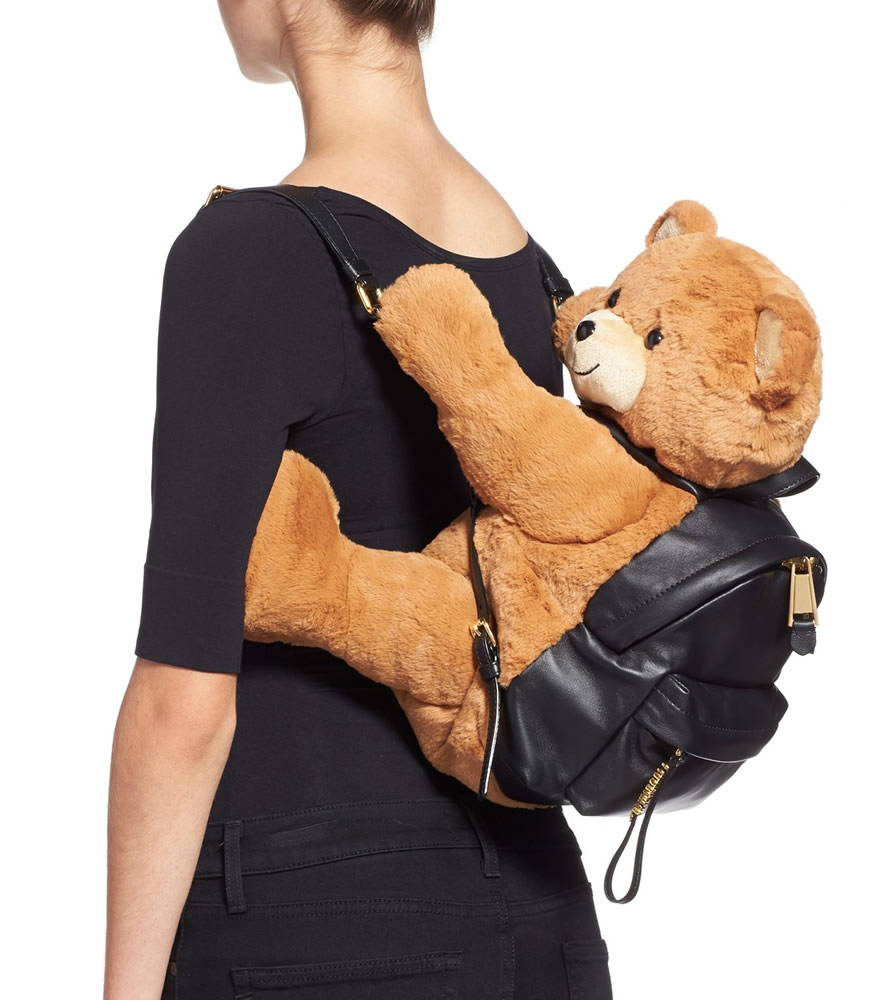 Moschino Bear Hug Backpack 2