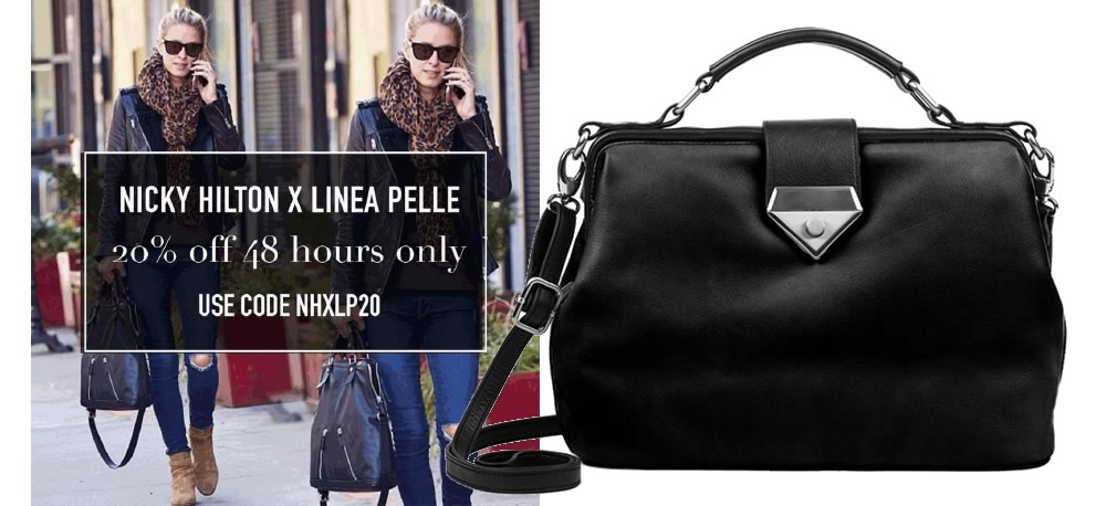 Nicky Hilton x Linea Pelle