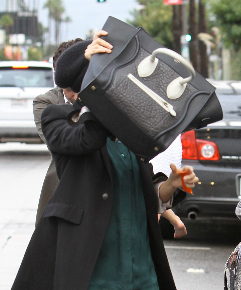 Nicole-Richie-Celine-Luggage-Tote