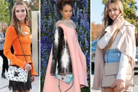 91 Bags and the Celebrities Who Carried Them to Paris Fashion Week Spring 2016