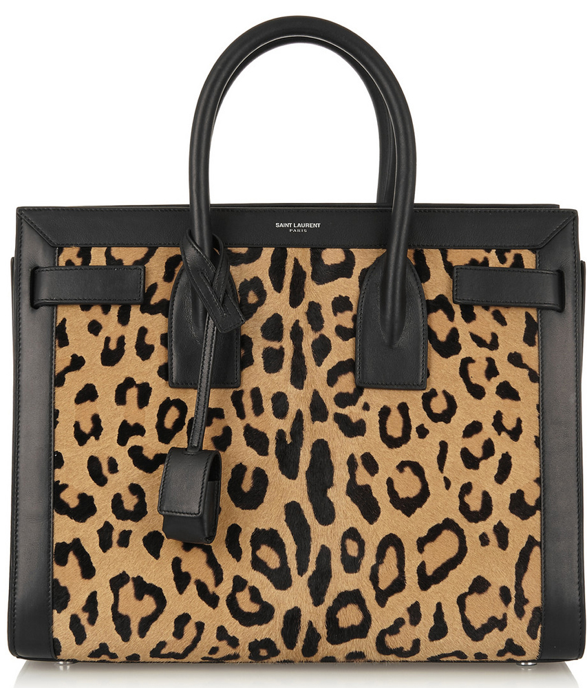 Saint-Laurent-Leopard-Sac-de-Jour-Bag