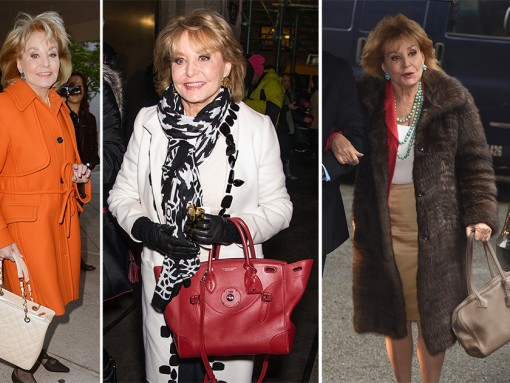 The Many Bags of Barbara Walters