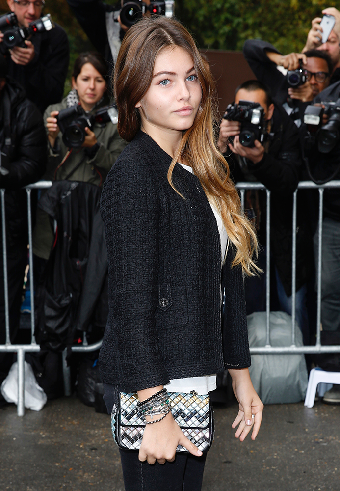 Thylane-Blondeau-Chanel-Mosaic-Flap-Bag