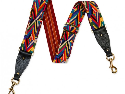 Valentino-Geometric-Embroidered-Guitar-Strap