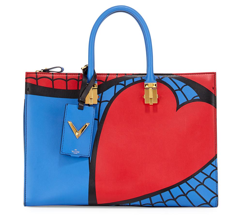Valentino-Superhero-Spiderman-Tote
