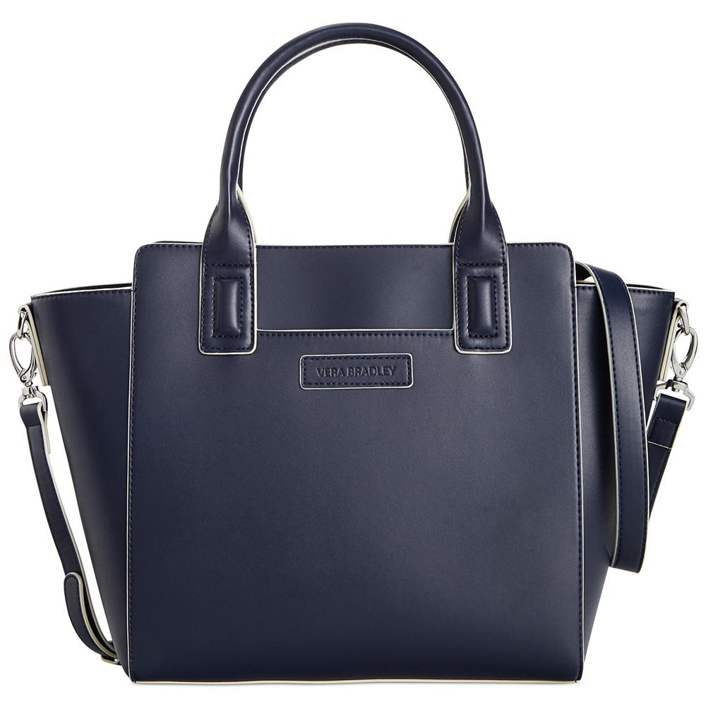 Vera-Bradley-Faux-Leather-Satchel