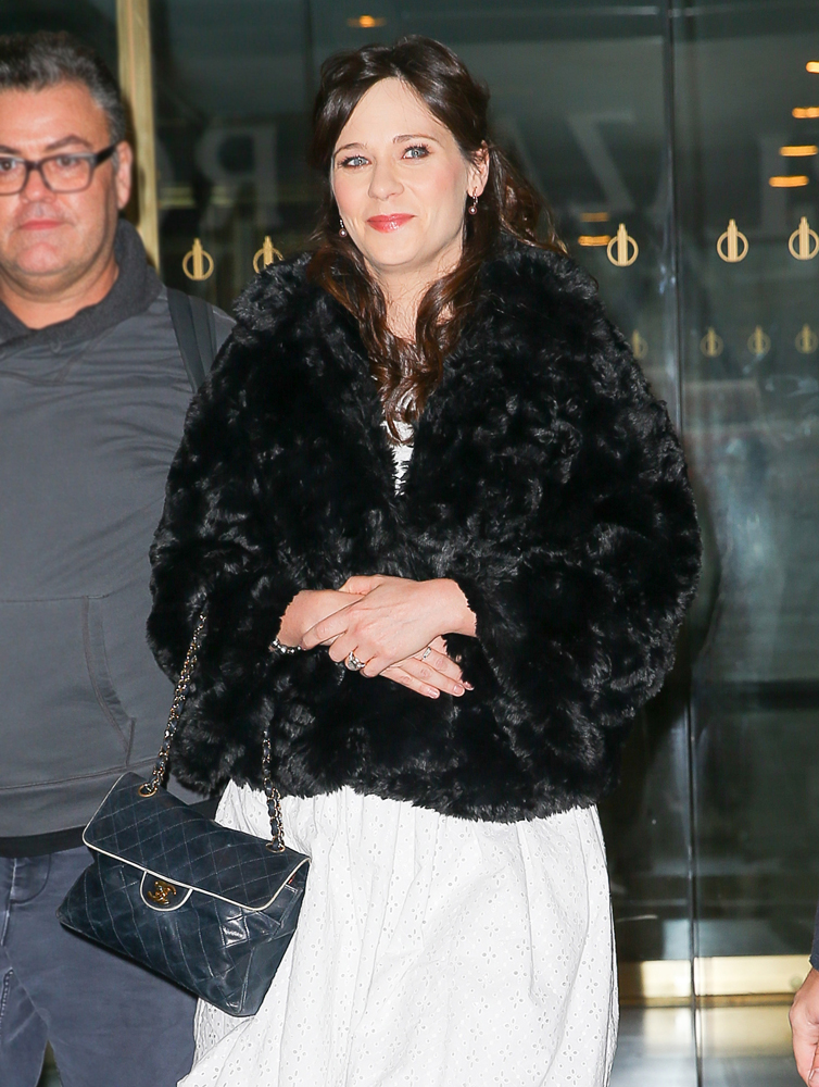 Zoey-Deschanel-Chanel-Flap-Bag