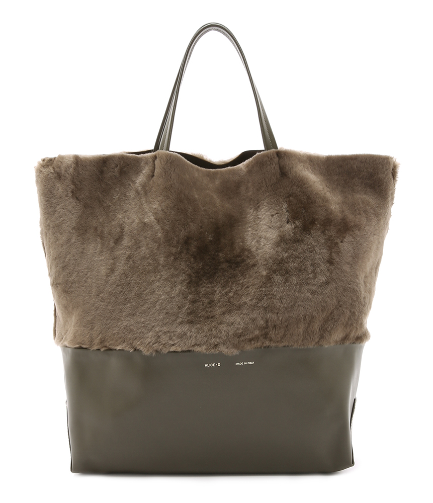 AliceD-Large-Shearling-Tote