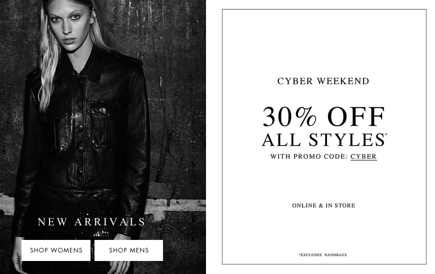 All saints coupon code