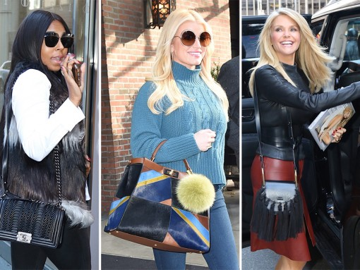 Celebs Step Out with New Bags from Givenchy, Coach, Chloé, & Chanel