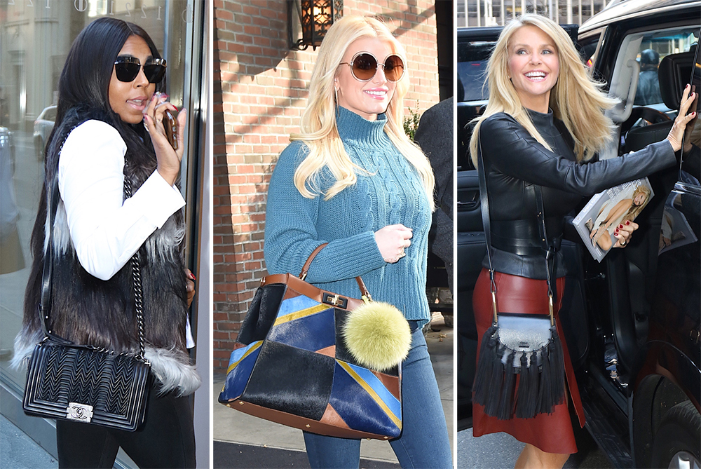 d191ffa090 Celebs Step Out with New Bags from Givenchy, Coach, Chloé, & Chanel ...