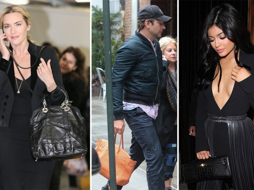 Male Celebs are Handling Some High-End Handbags This Week