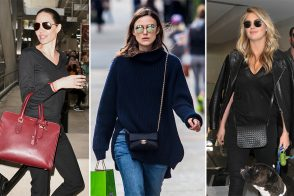 Celebs Have the Blues with Bags from Céline, Armani, Givenchy & More