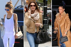 Cindy Crawford Has Been Carrying The Same Handbag Since 2008 and More Celeb Bag News