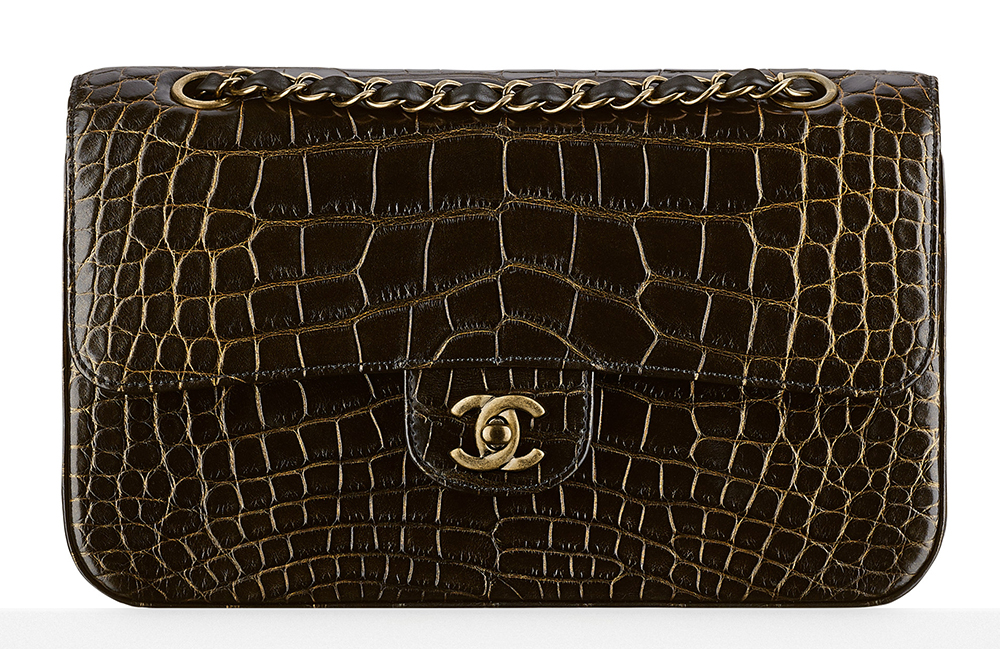 Chanel-Alligator-Classic-Flap-Bag