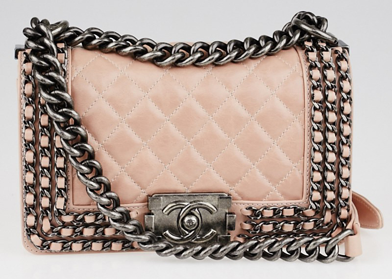 Chain Chain-Trim Boy Bag, $4,900 via Yoogi's Closet