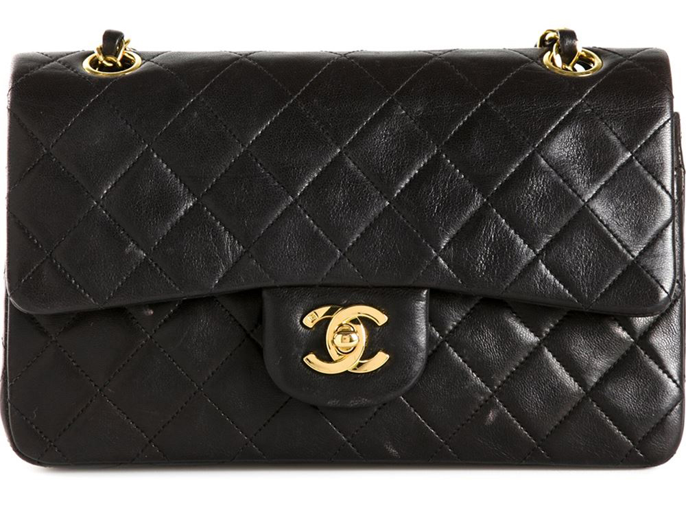 Chanel Classic Flap Bag, $3,599 via farfetch.com