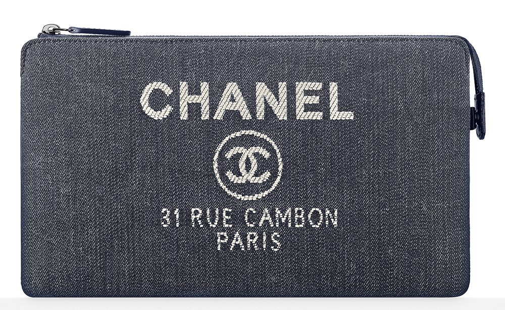 Chanel-Denim-Pouch