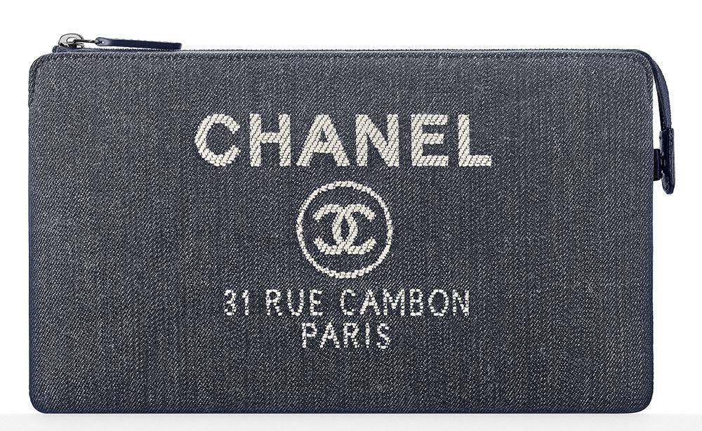 Chanel-Denim-Pouch