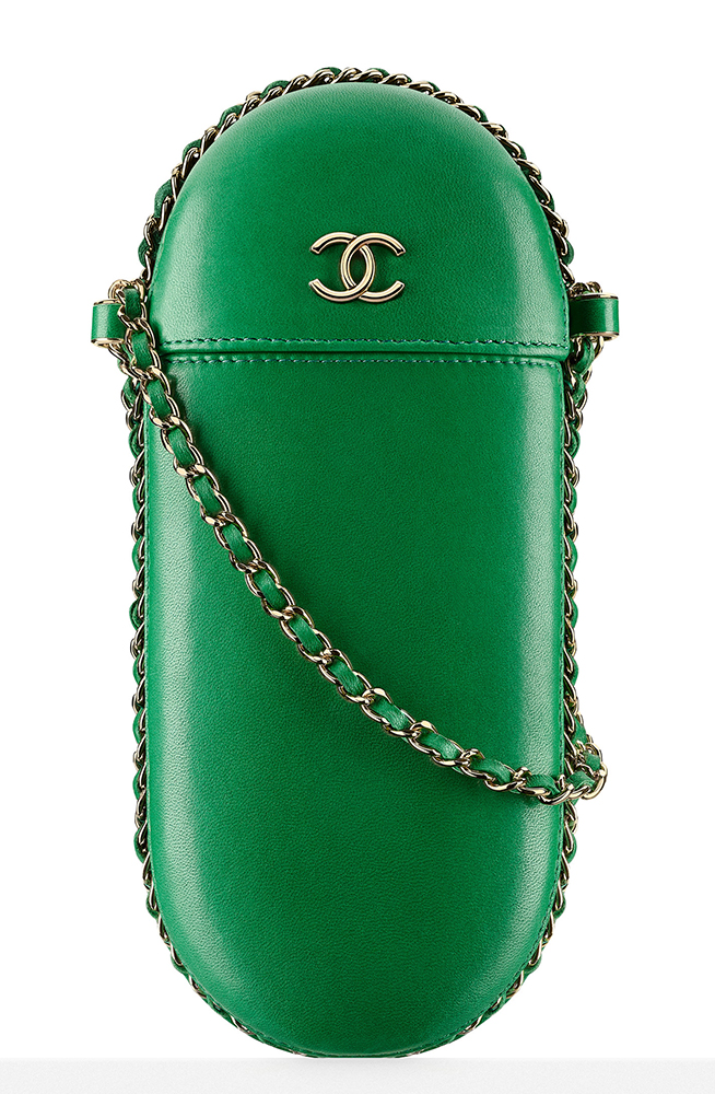 Chanel-Glasses-Case-Green-1950