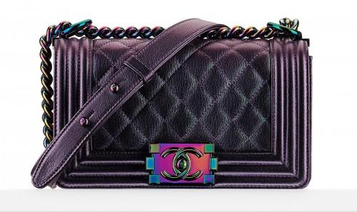 Chanel Iridescent Boy Bag
