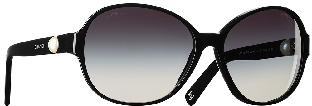 Chanel-Round-Pearl-Sunglasses