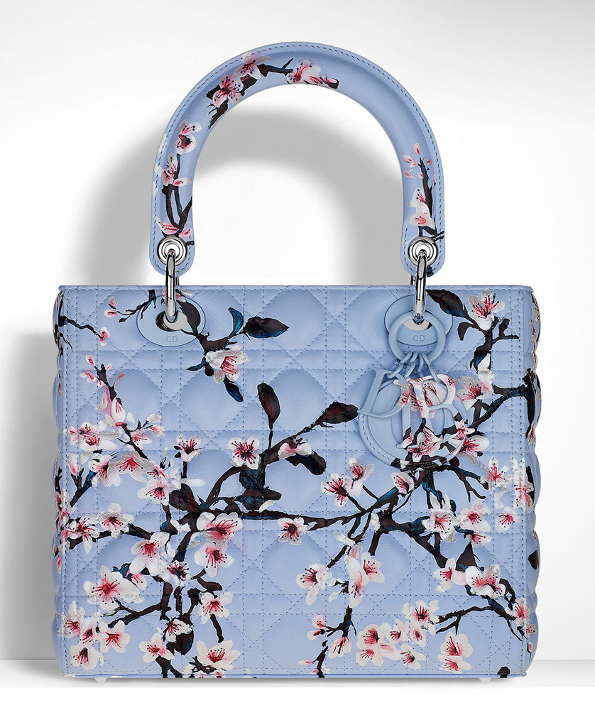 Christian-Dior-Lady-Dior-Floral-Bag