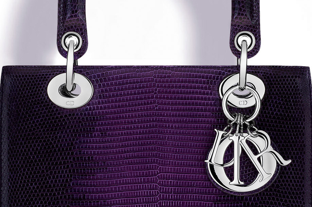 Christian-Dior-Lady-Dior-Ombre-Lizard-Bag-Closeup