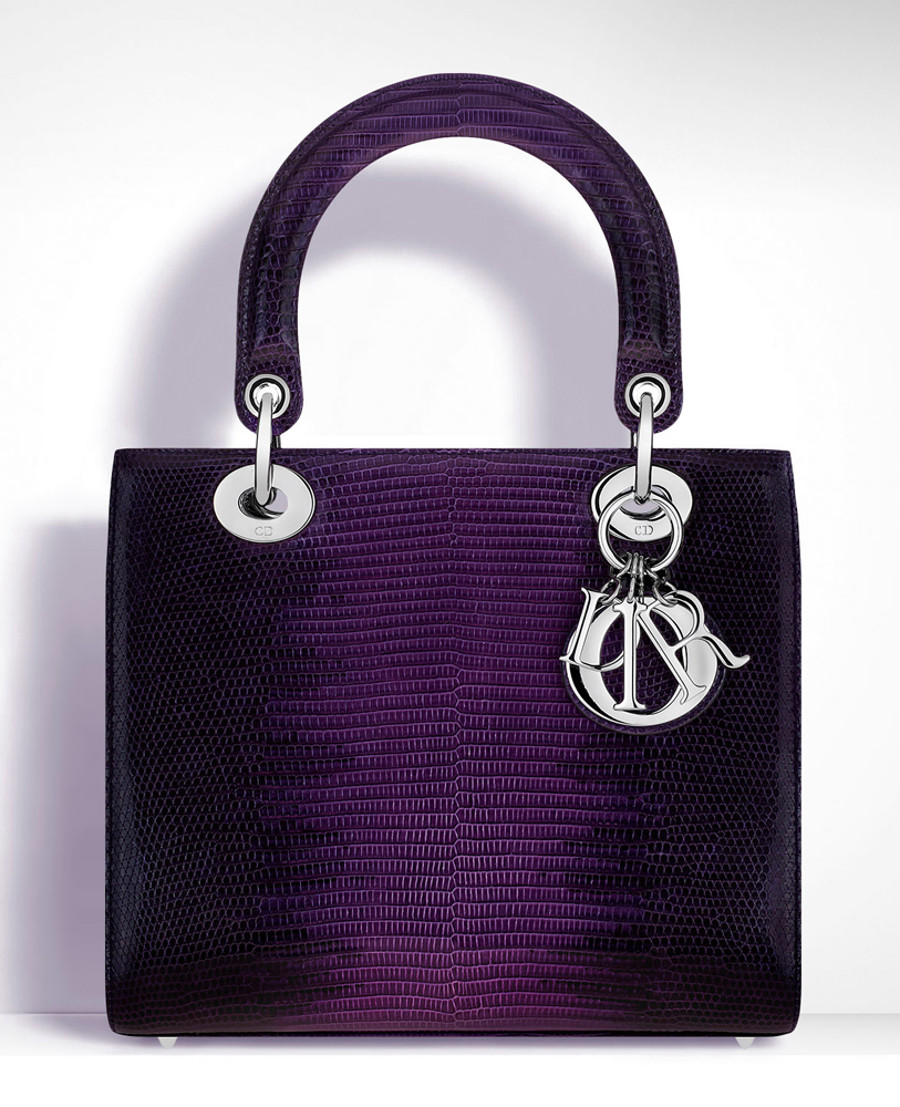 Christian-Dior-Lady-Dior-Ombre-Lizard-Bag